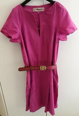 Abito vintage donna vestito Charade tg 44