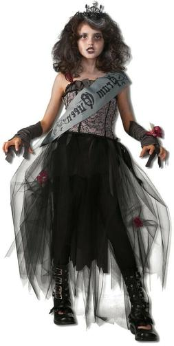 Costume Bambini Dark Prom Queen RUBIES di Carnevale Tgl 3-4,
