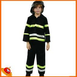 Costume Carnevale Ragazzo Bambino Pompiere Vigile del Fuoco