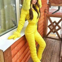 Donna Inverno Outdoor Tuta Intera SPORTS Caldo da Sci Pantal
