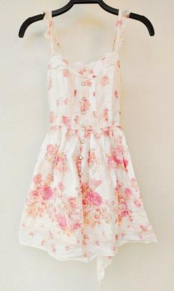 LIZ LISA - FLORAL COTTON ONE PIECE DRESS - JAPAN FASHION LOL