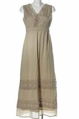 YESSICA Maxi abito bianco sporco elegante Donna Taglia IT 40