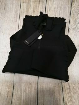 PINKO Vestito Aderente/Tight Dress Bare Shoulders Black TG.M