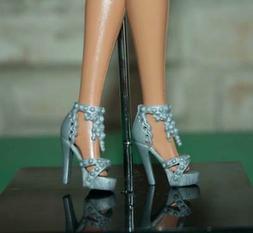 vestito barbie, accessori scarpe alta qualità