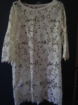 Vestito BLANC MARICLO colore bianco panna taglia S/M