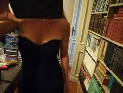 vestito Hervé Léger ,t.M,colore nero